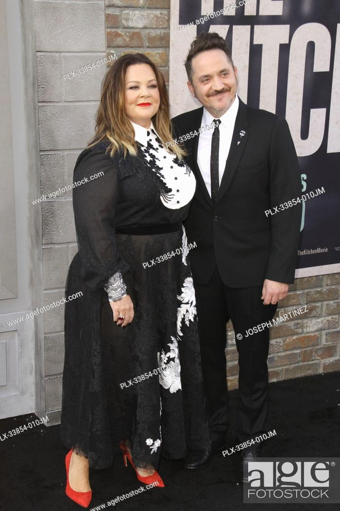 """Stock Photo: Melissa McCarthy, Ben Falcone at Warner Bros. Pictures' """"""""The Kitchen"""""""" Premiere held at the TCL Chinese Theatre, Los Angeles, CA, August 5, 2019."""