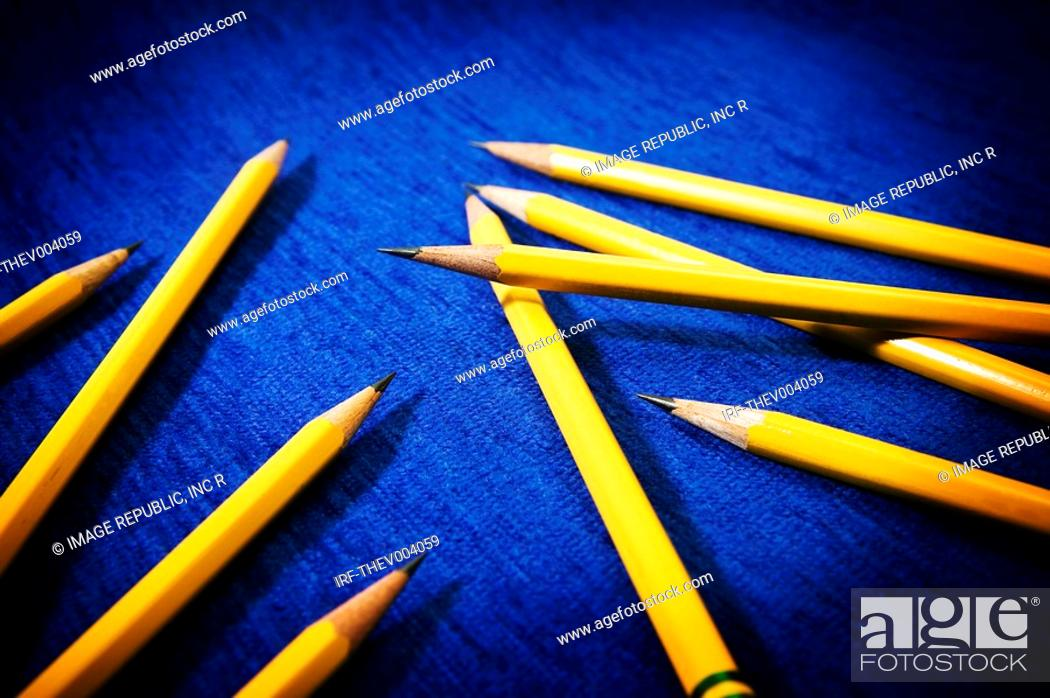 Stock Photo: pencils.