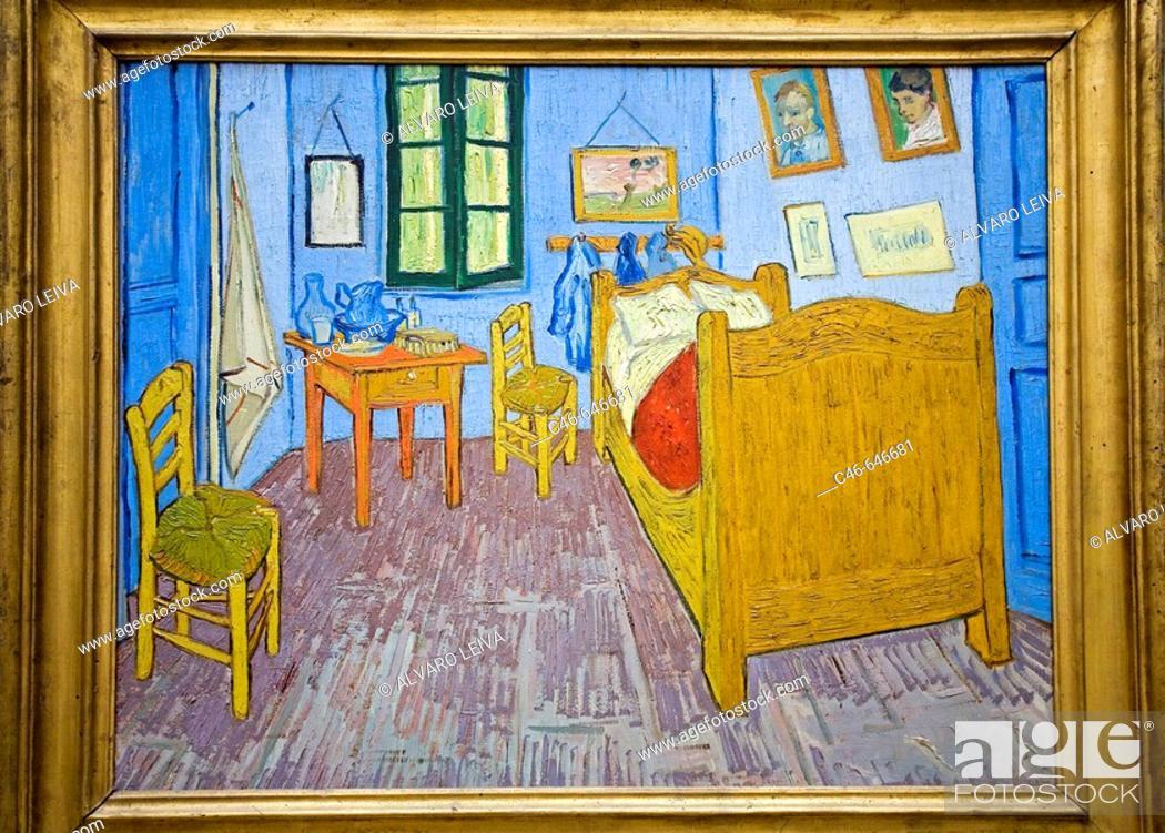 La Chambre De Van Gogh A Arles 1889 Vincent Van Gogh Orsay Museum