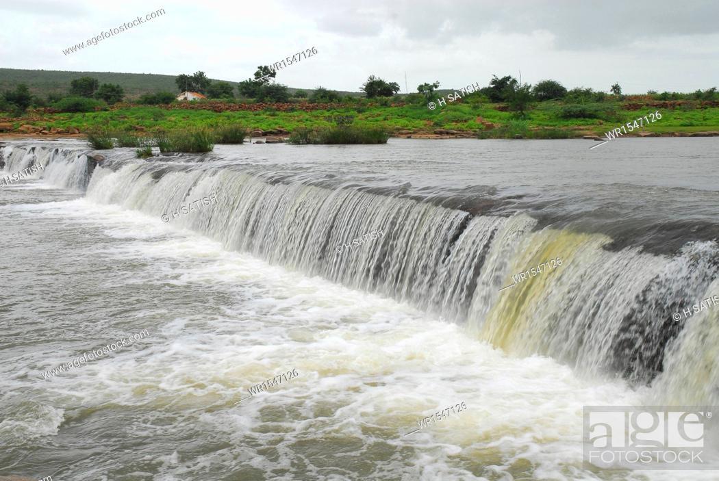 Imagen: Godachinamalki water falls markandeya river Gokak Belgaum in Karnataka India Asia.