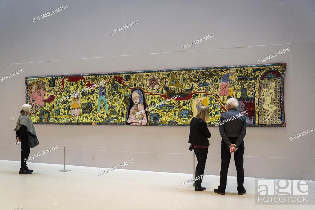Arken Museum Of Modern Art The Walthamstow Tapestry By
