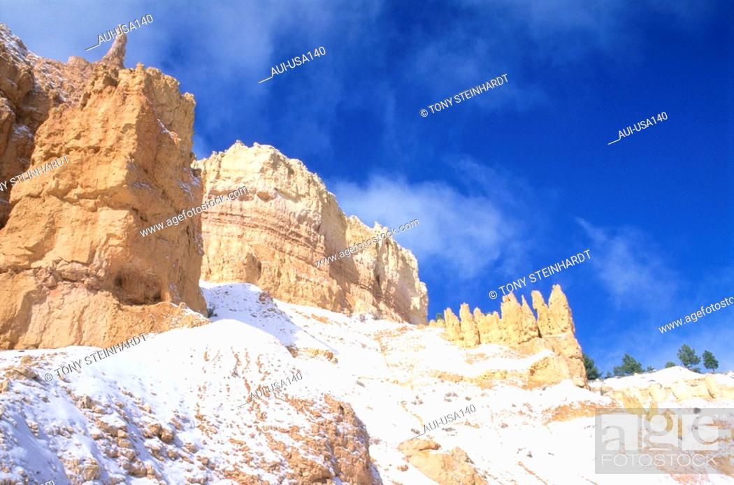 Stock Photo: USA - National Park - Ouest - Bryce Canyon.