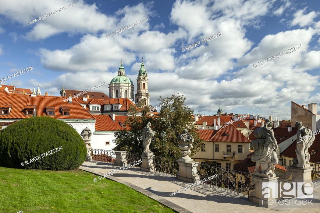 Stock Photo: Vrtba Garden in Prague, Czechia.