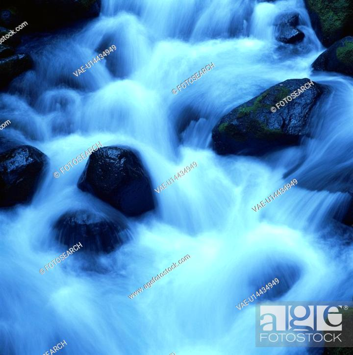 Stock Photo: The Flow Of Water.