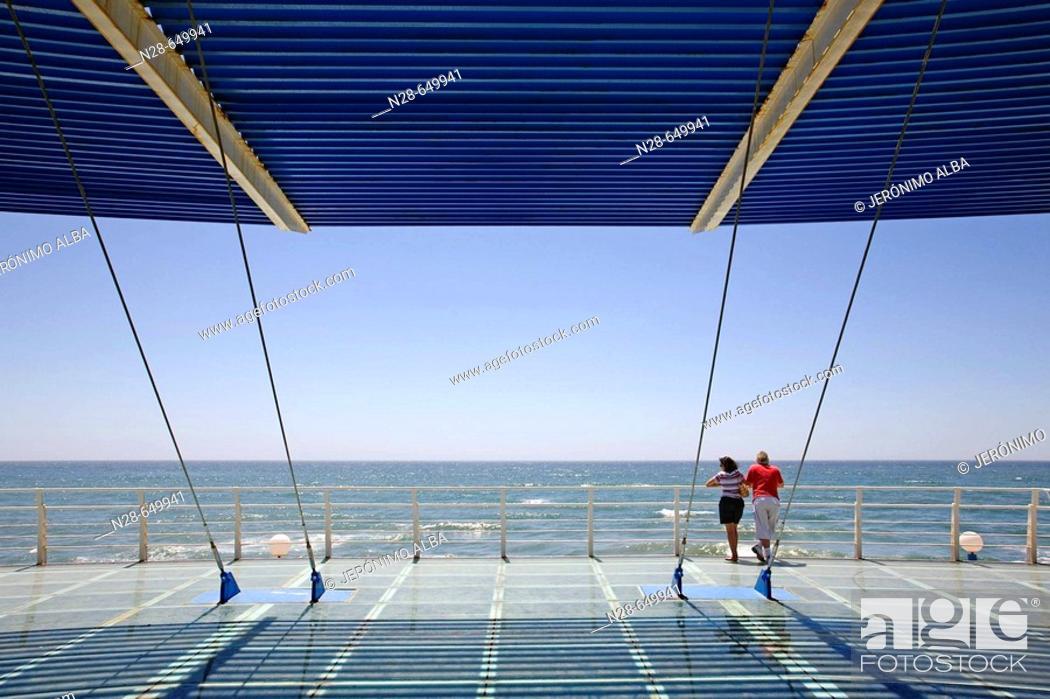 Stock Photo: Ferrara beach. Torrox. Malaga, Andalusia, Spain.