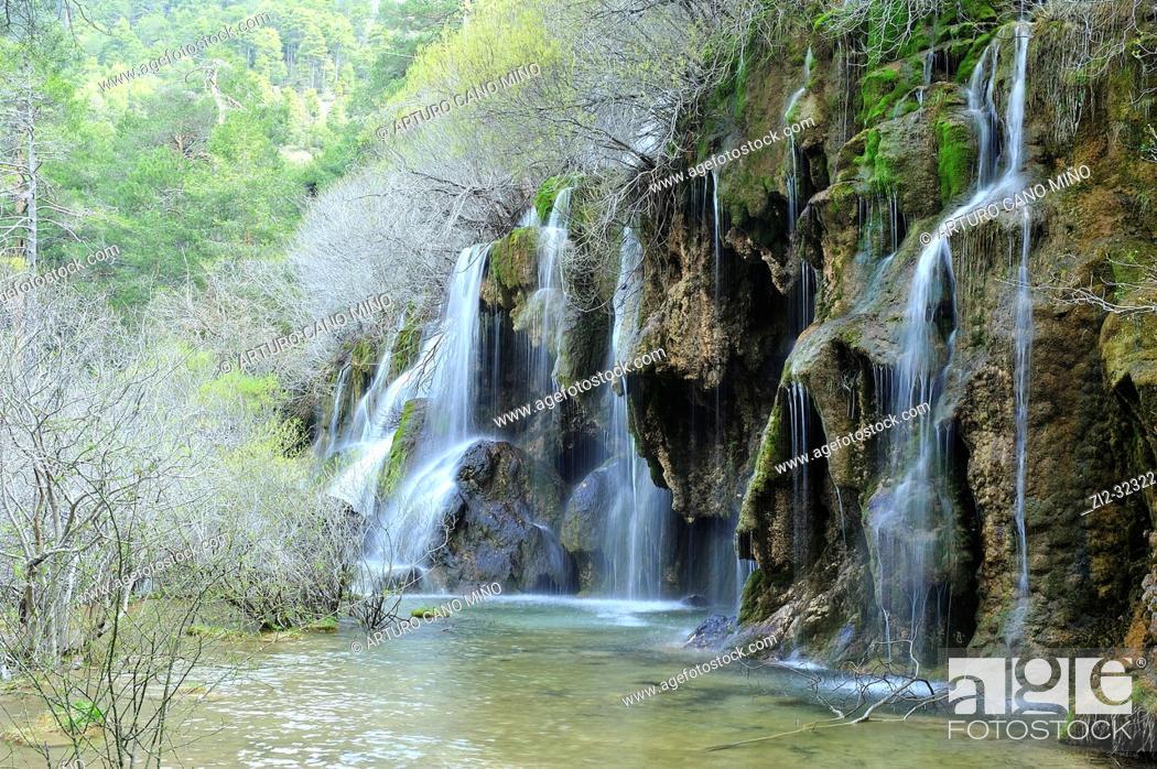 Imagen: The River Cuervo Natural Monument. Serrania de Cuenca Natural Park. Cuenca Province, Spain.