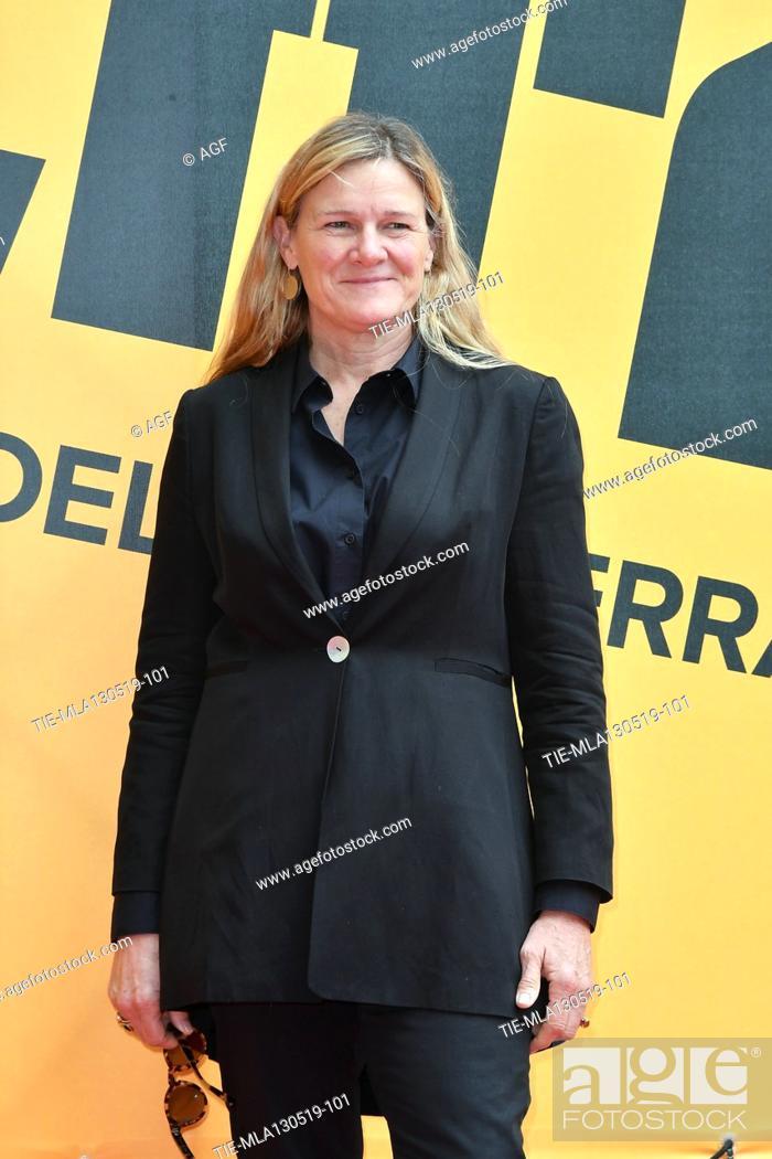 Stock Photo: Ellen Kuras during 'Catch-22' TV show photocall, Rome, Italy - 13 May 2019.