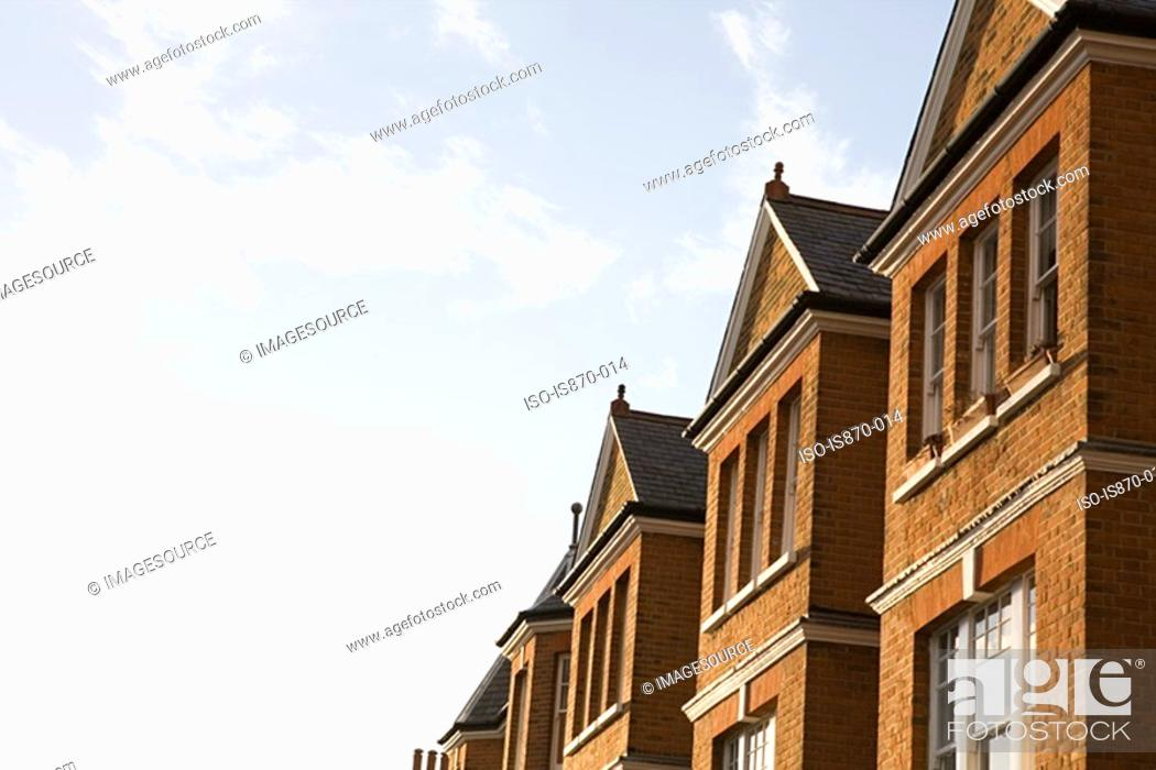 Stock Photo: Building and sky.