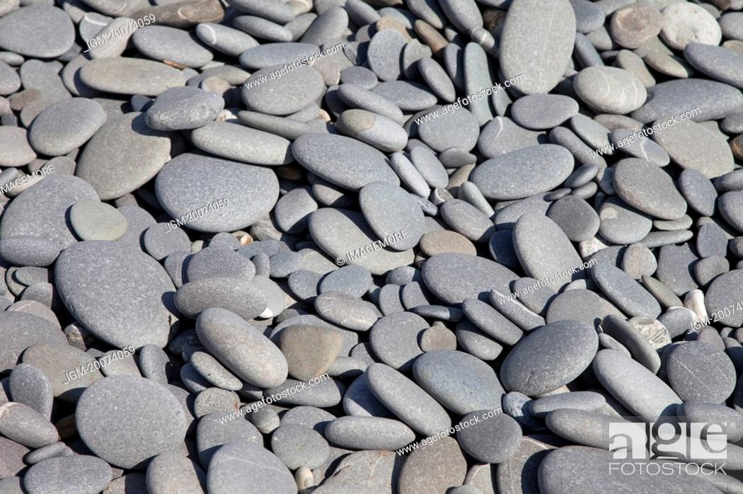 Stock Photo: Stone at shore, full frame.