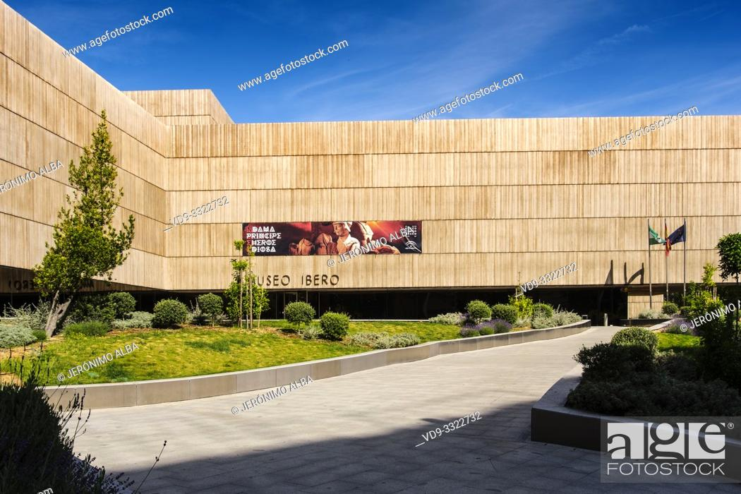 Stock Photo: Exterior view The Iberian Museum. Jaén, southern Andalusia. Spain Europe.