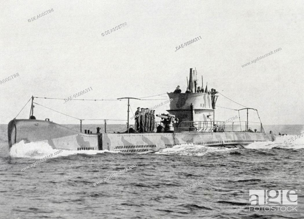 Imagen: Squalo class submarine (launched in 1930), Italy, 20th century. Venice, Naval History Museum.