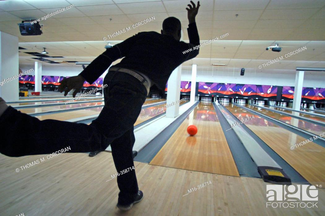 Stock Photo: Bowling.