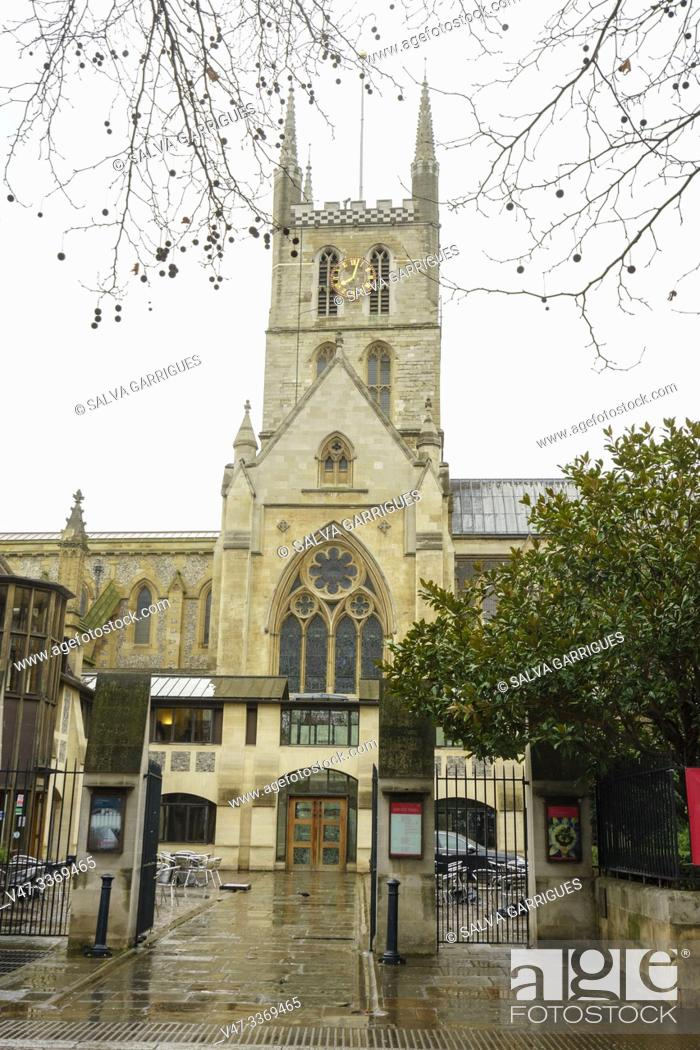 Imagen: Southwark Cathedral or Collegiate Cathedral and Church of Saint Savior and Saint Mary Overie of Southwark, London, England.