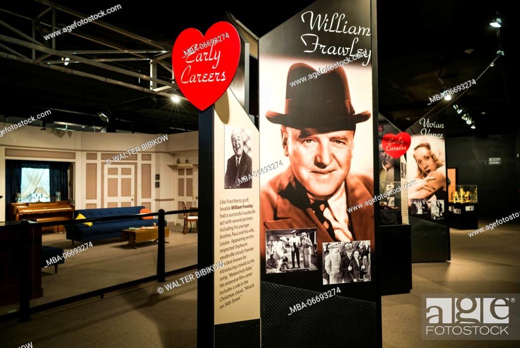 Stock Photo: USA, New York, Western New York, Jamestown, Lucy-Desi Museum, dedicated to comedy star Lucille Ball of the 1950s-era TV show, I Love Lucy.