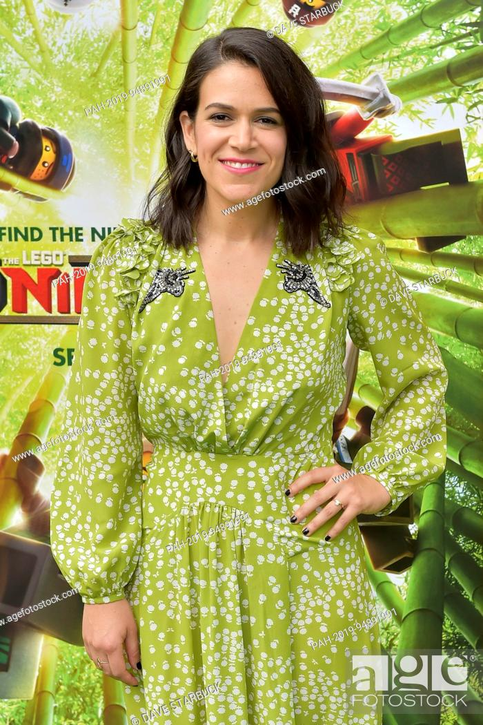 Abbi Jacobson at the premiere of 'The LEGO Ninjago Movie' in