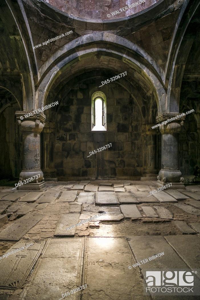 Imagen: Armenia, Debed Canyon, Sanahin, Sanahin Monastery, 10th century, interior.