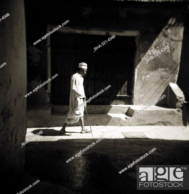 Image taken with a Holga medium format 120 film toy camera of a man