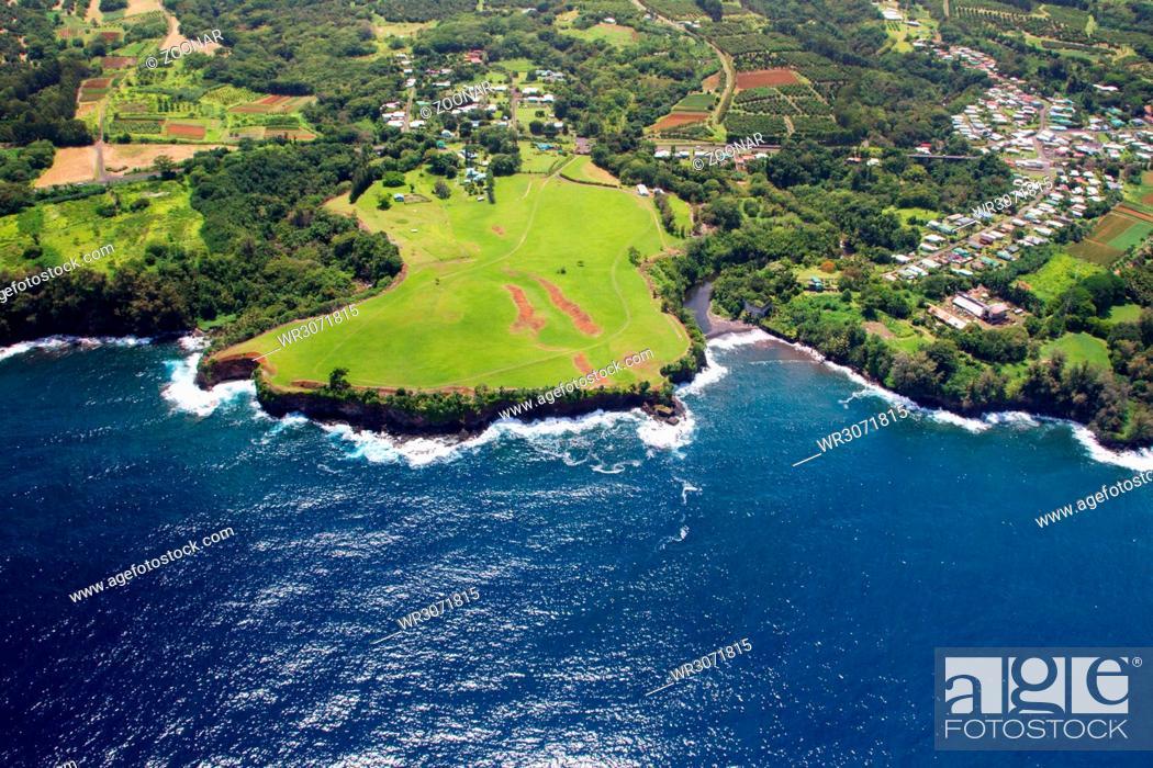 Stock Photo: Papaikou, Big Island, Hawaii.