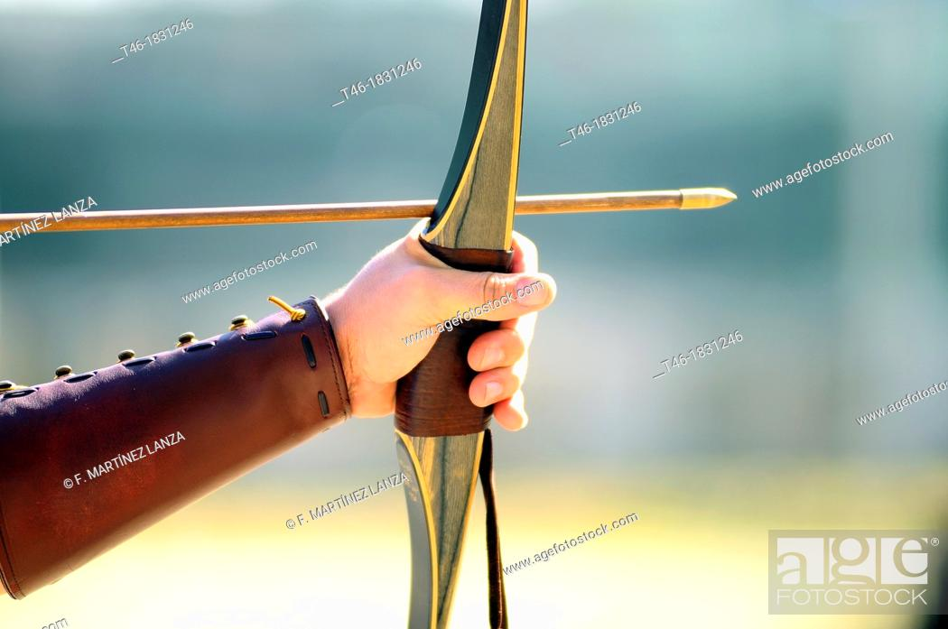 Imagen: Archery competition, Madrid, Spain.