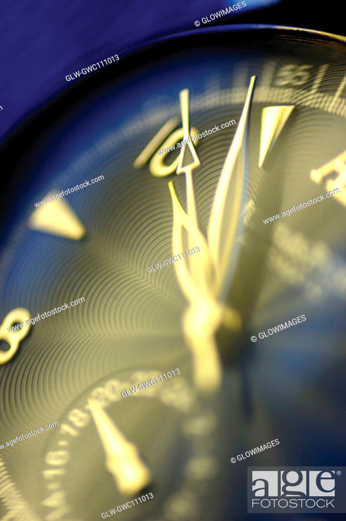 Stock Photo: Close-up of a wristwatch.