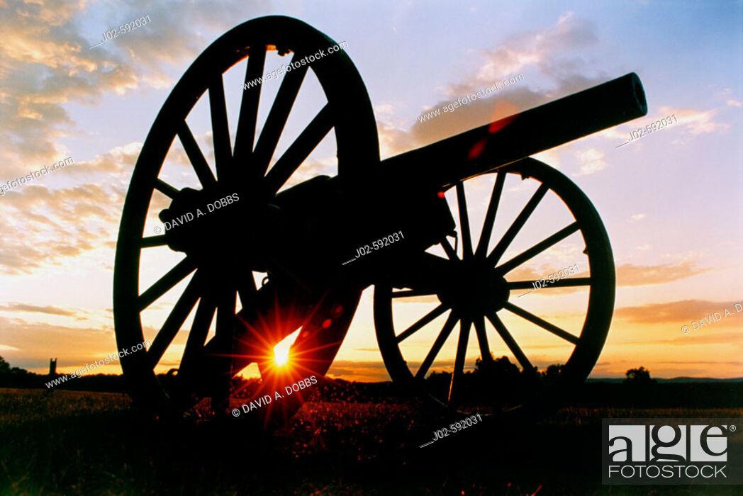 Stock Photo: Manassas National Battlefield Park, Virginia, USA.