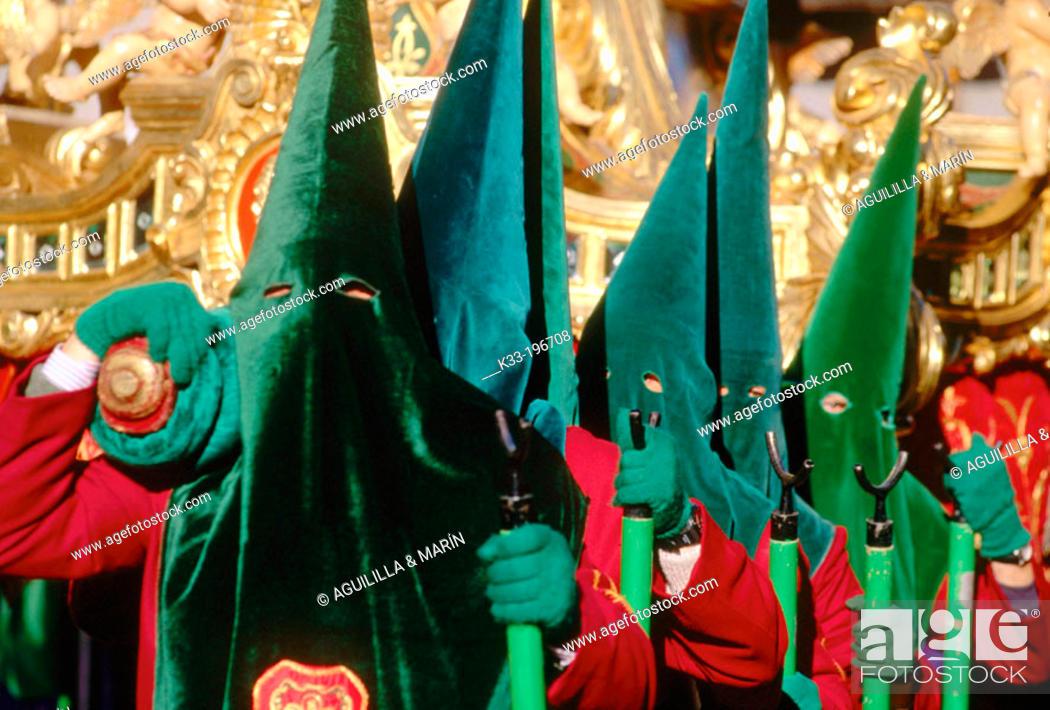 Stock Photo: Holy Week. Cuenca. Spain.