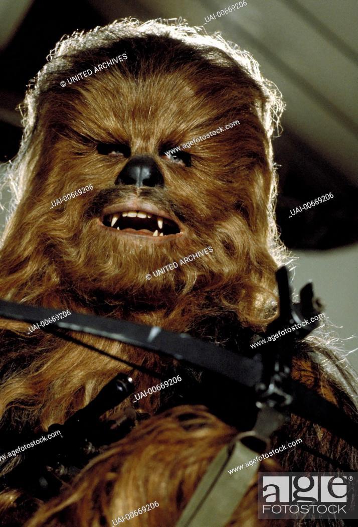 Stock Photo: STAR WARS: EPISODE VI - RETURN OF THE JEDI USA 1983 Richard Marquand Bild: Chewbacca Regie: Richard Marquand / STAR WARS: EPISODE VI - RETURN OF THE JEDI USA.