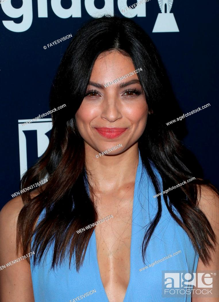 28th Annual Glaad Media Awards Arrivals Featuring Floriana Lima