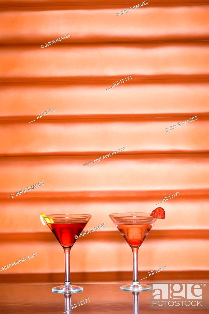 Stock Photo: Cocktails.