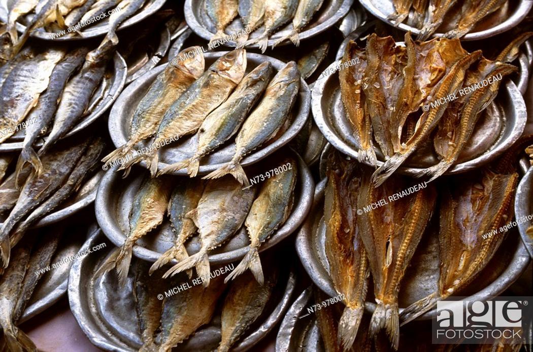 Stock Photo: Thailande, Bangkok, marché.
