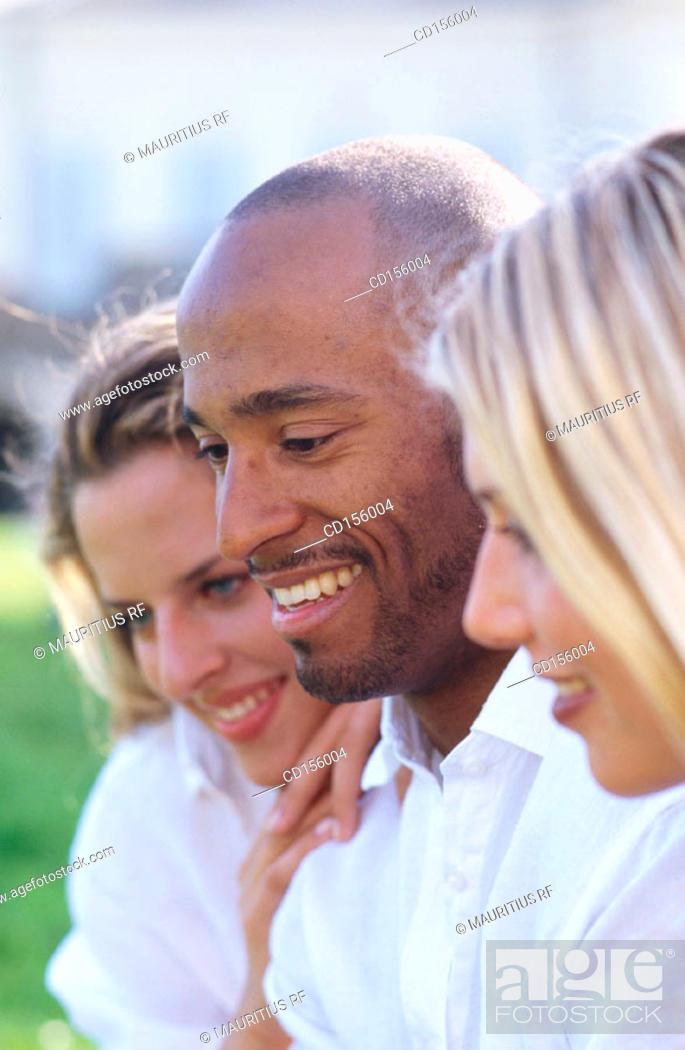 Stock Photo: Happy, Flirt, Admiration.
