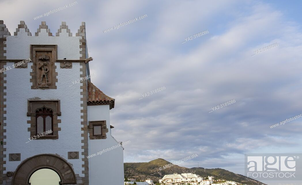 Imagen: Maricel Palace in Sitges, Spain.
