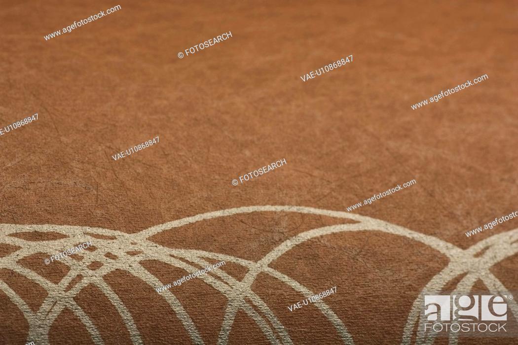 Stock Photo: Carpet, Close-Up, Design, Fabric, Focus On Foreground.