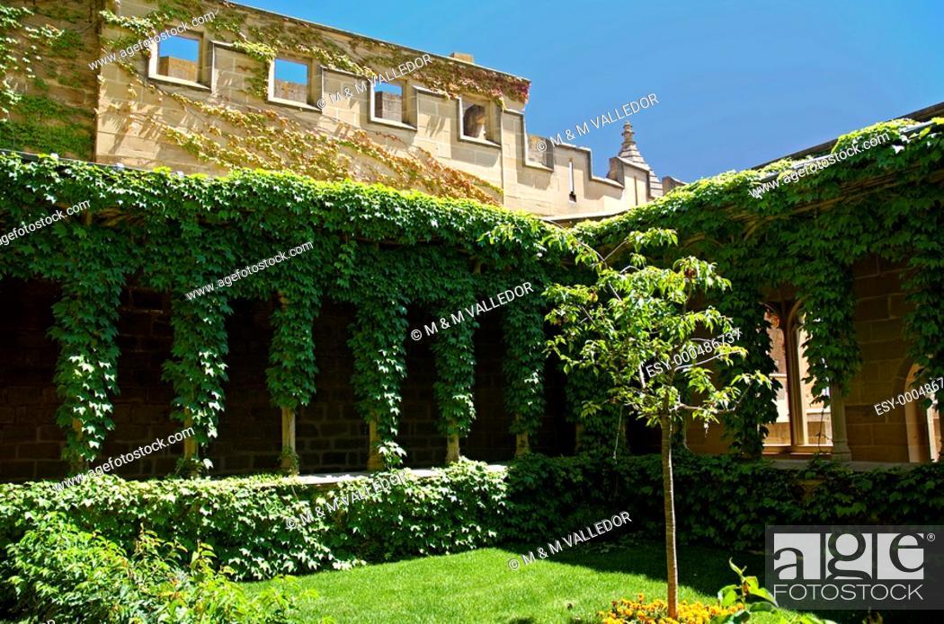 Stock Photo: Palace of the Kings of Navarre,Olite,Navarre,Spain.