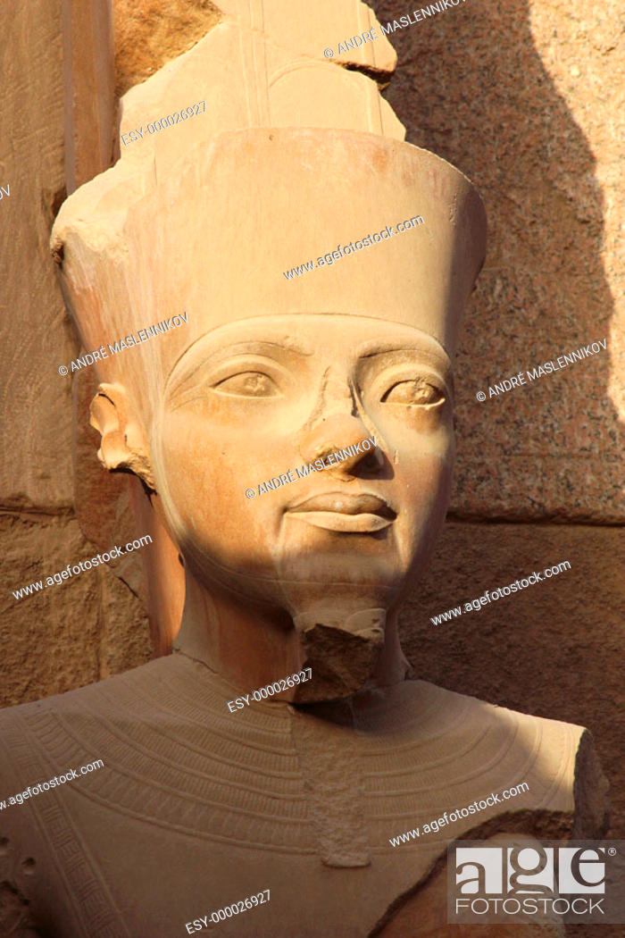 Stock Photo: Sculpture in Amon temple in Luxor. Egypt.