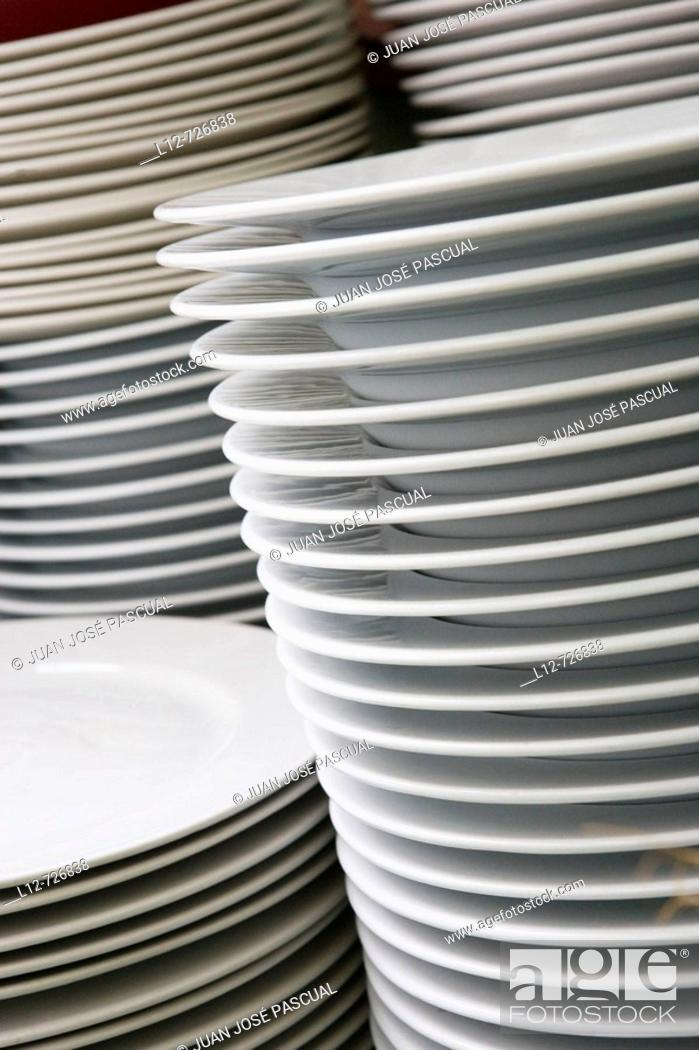Stock Photo: Dishes.