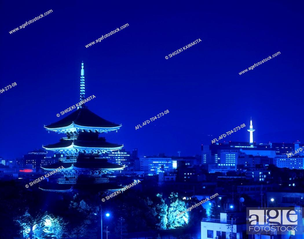 Stock Photo: Higashi-ji, Kyoto, Japan.