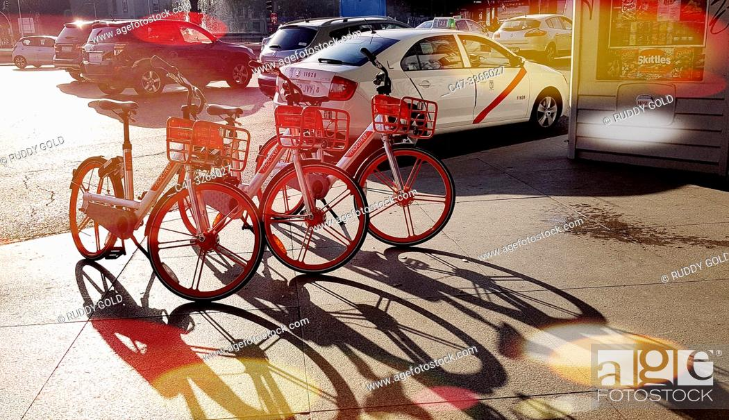 Imagen: Mobike, Where you can pick up and leave a bike at your convenience provides an affordable means of shared transportation for convenient short urban trips.