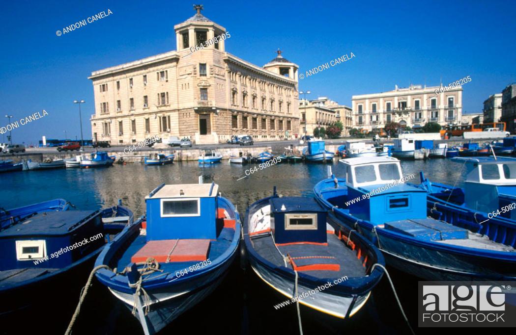 Stock Photo: Syracusa. Sicily. Italy.