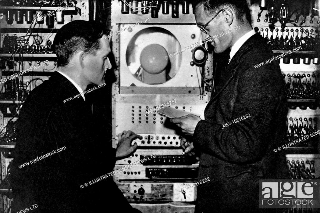 The control panel of the automatic sequence-controlled