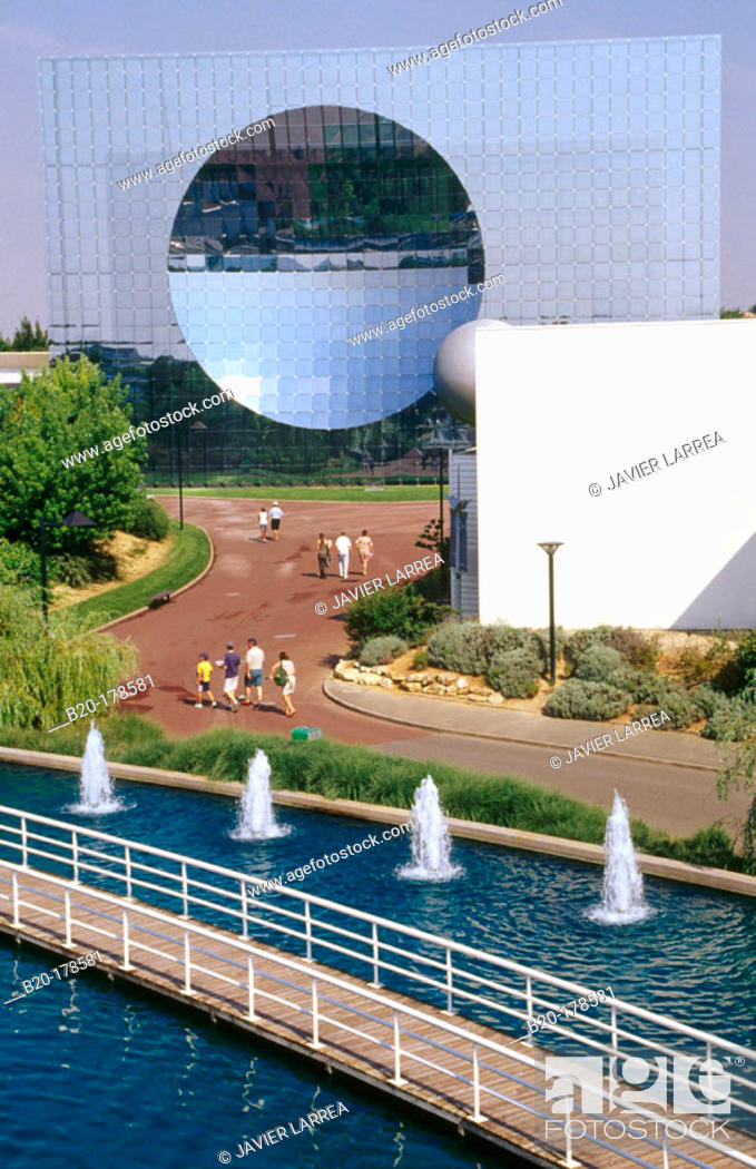 Stock Photo: Futuroscope. Poitiers. France.