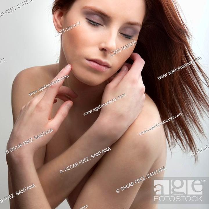 Stock Photo: Young girl, portrait.