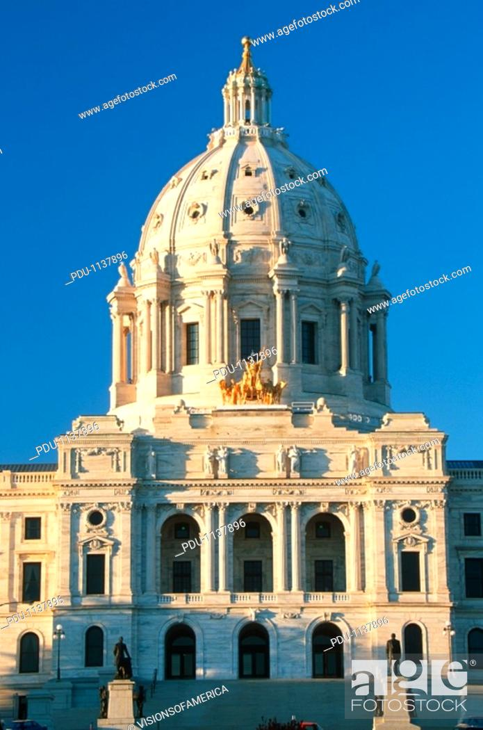Stock Photo: 'State Capitol of Minnesota, St  Paul'.
