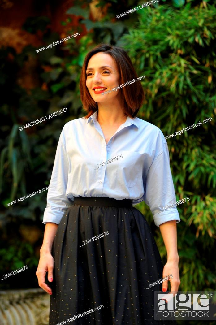 Photo de stock: Ambra Angiolini; Angiolini; actress ; celebrities; 2015;rome; italy;event; photocall; la scelta.
