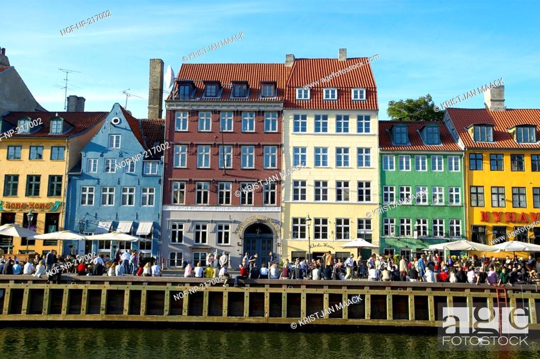 Stock Photo: Nyhavn in Copenhagen.