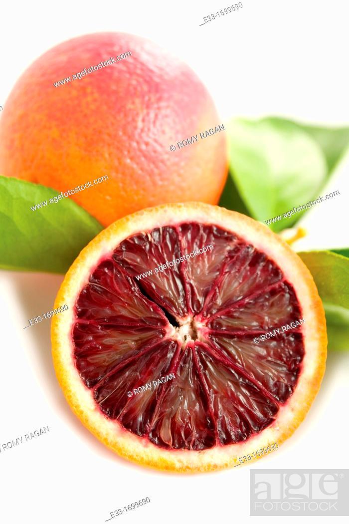Imagen: Italian blood orange.