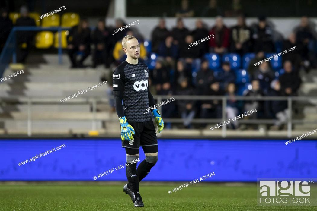 Standard s Goalkeeper Arnaud Bodart Pictured During A Soccer Match Between Waasland Beveren And Stock Photo Picture And Rights Managed Image Pic VPM Agefotostock