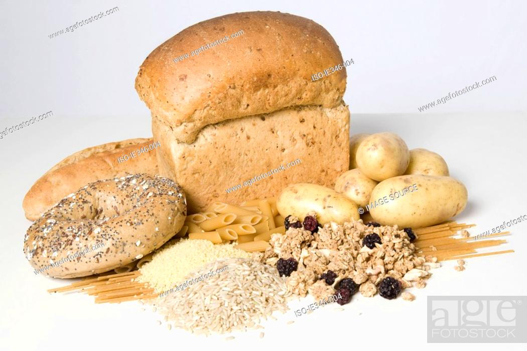 Stock Photo: Carbohydrates.