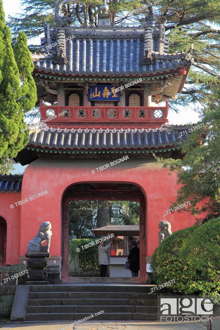 Imagen: Japan, Nagasaki, Sofukuji Temple, .