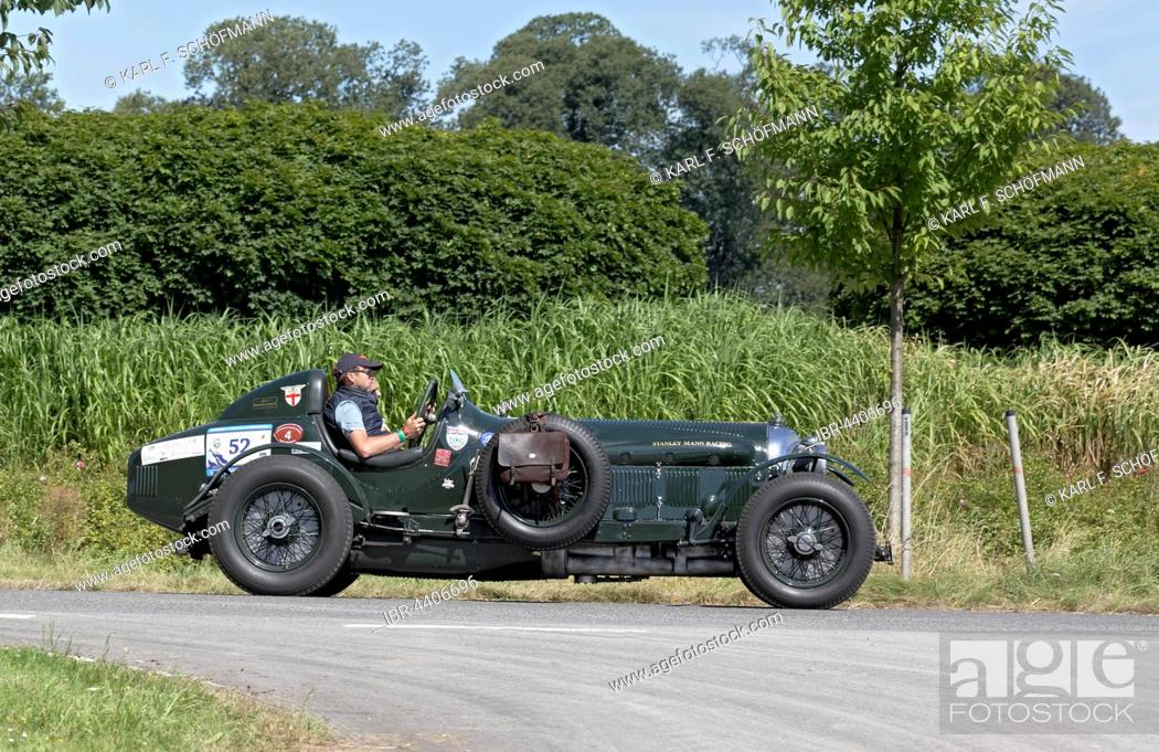 A 3 5 liter supercharged Bentley, built in 1935, Stanley Mann Racing